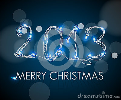 2013 from digital electronic blue lights