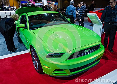 2013 Ford Mustang GT Editorial Photo