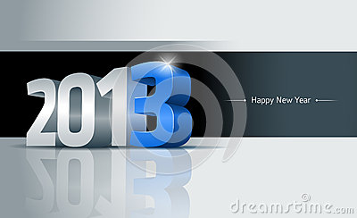2013 Happy New Year Card