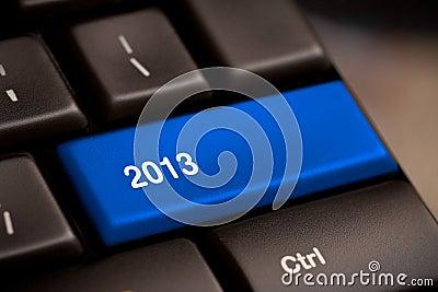 2013 Key On Keyboard