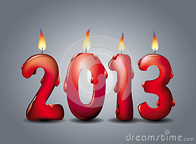 2013 lighted candles