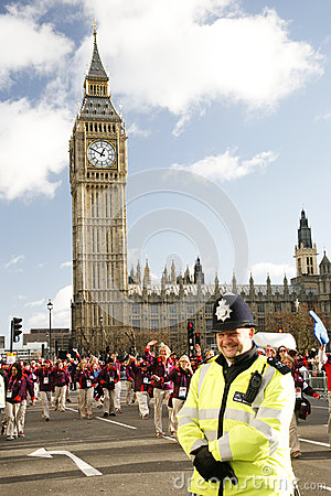 2013, London New Years Day Parade Editorial Stock Photo