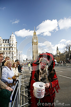 2013, London New Years Day Parade Editorial Image