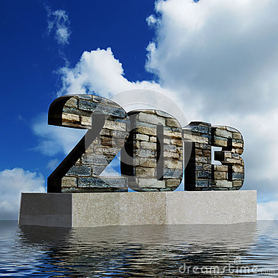 2013 monument showing optimism for the year ahead