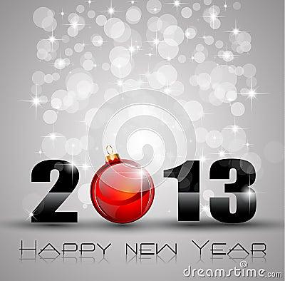 Free 2013 New Year Celebration Background Royalty Free Stock Photos - 27042108