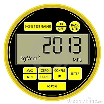 2013 New Year modern digital  manometer