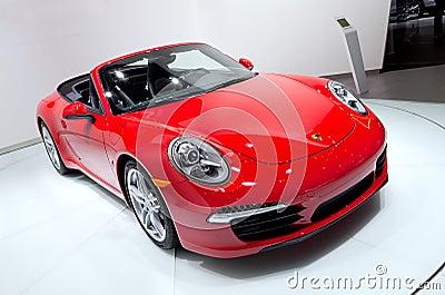 2013 Porsche 911 Editorial Image