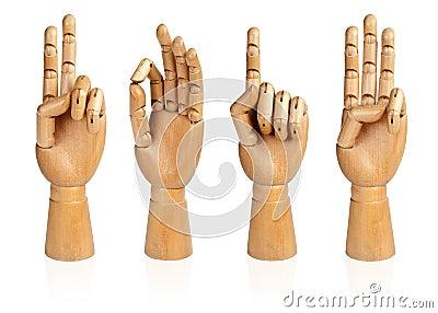 2013 in poston of wooden hand