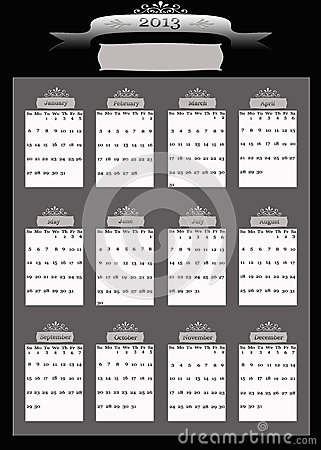 2013 Professional Business Calendar