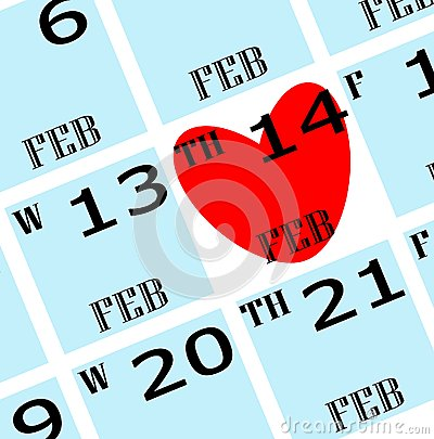 2013 valentine s date