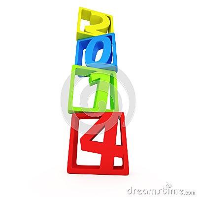 Столбец чисел 2014
