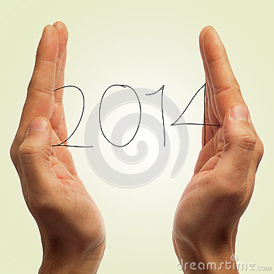 Free 2014, As The New Year Stock Photos - 32837333