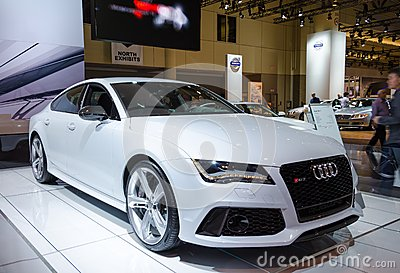 2014 Audi RS 7 Editorial Photo