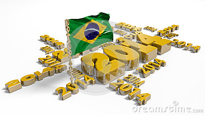 2014 Brazilian Flag
