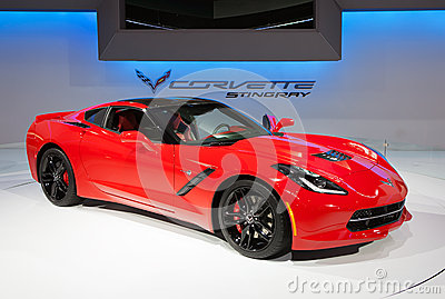 2014 Chevrolet Corvette Stingray Editorial Image