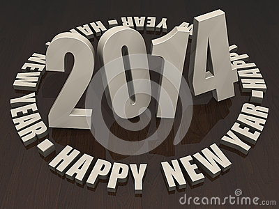 2014 lyckliga nya år