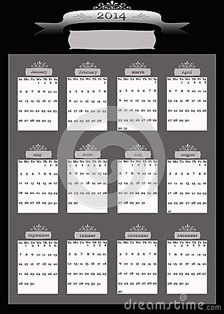 2014 Professional Business Calendar