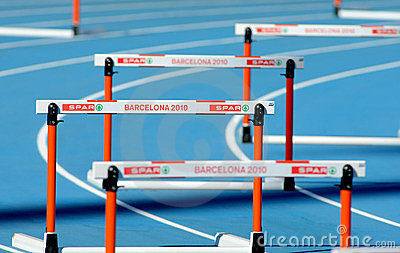 20th European Athletics Hurdles Editorial Image