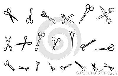 21 scissors