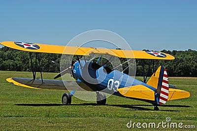 古色古香的双翼飞机no1