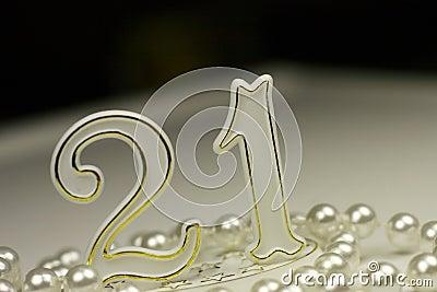 21st Birthday sign