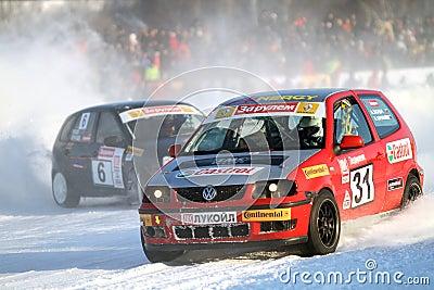 21st traditional Race Stars Za rulyom Editorial Photo