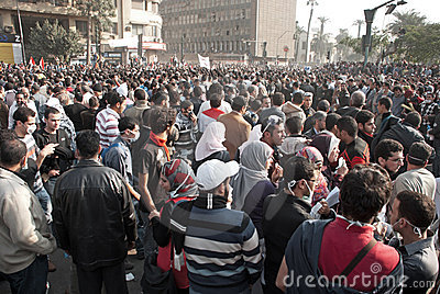 22 November 2011: New Clashes in Egypt Editorial Stock Image