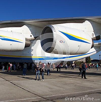 An-225 engine Editorial Photo
