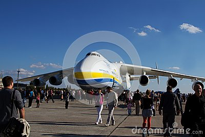 An-225 Mriya Editorial Stock Image