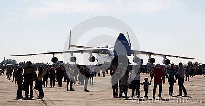 An-225 Mriya Editorial Photography