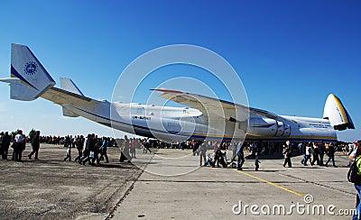 An-225 Mriya Editorial Stock Photo