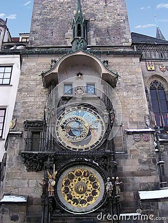 天文学chech时钟布拉格共和国