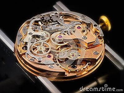 23 chronographe移动vlajoux手表
