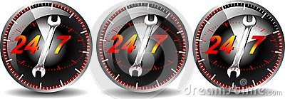 24/7 hour maintenance car