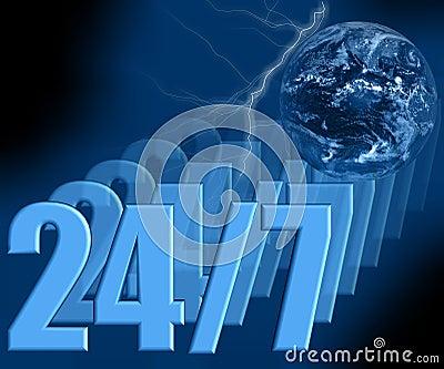 24/7 - Always Open 3D