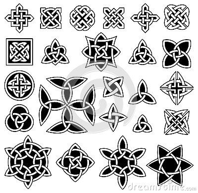 Free 24 Celtic Knots Stock Images - 37233514