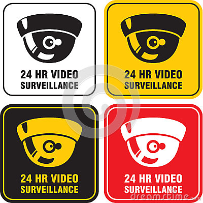 24 H Video surveillance camera