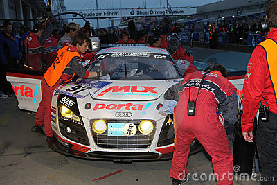 24 Hour Race Nuerburgring Editorial Stock Image