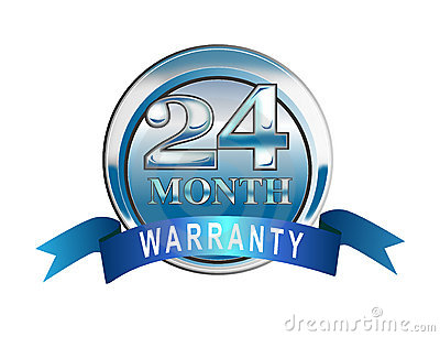 24 Month Warranty Icon Royalty Free Stock Image Image