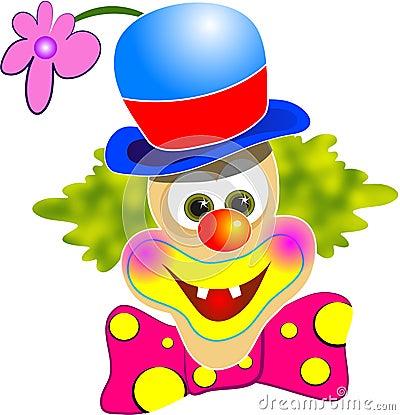 愉快的小丑