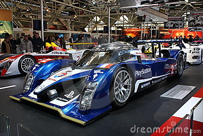 24H Le Mans race car - Peugeot 908Hdi Editorial Stock Photo