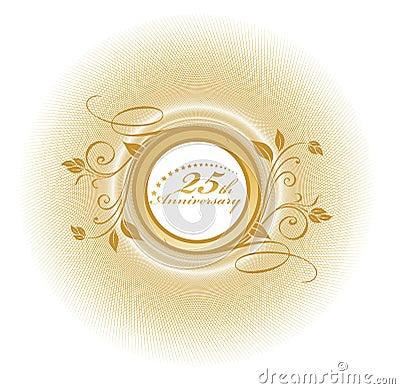Free 25 Anniversary Stock Photography - 4556662
