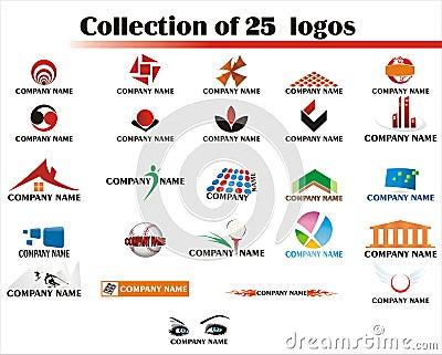 25 Logos Set - logo
