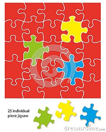 25 piece jigsaw