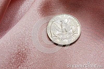 25 U.S. cents eagle