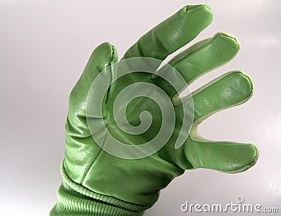 手套绿色现有量