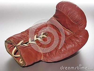 拳击手套位于