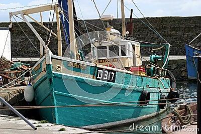 捕鱼拖网渔船