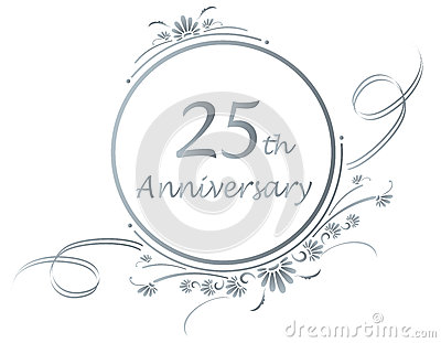 25th anniversary design