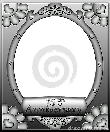 25th Anniversary Frame Border